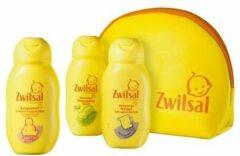 Zwitsal Geschenkset - Reistasje, Bodylotion, Wasgel, Shampoo 75 ml