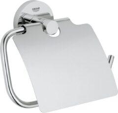 Grohe Essentials closetrolhouder, metaal, chroom, (lxhxd) 167x119x44mm oppervlaktebescherming