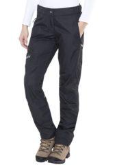 Zwarte Maier Sports Raindrop lange broek Dames zwart Maat DE 44 (Regular Size)