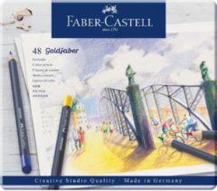 Faber Castell FC-114748 Kleurpotlood Faber-Castell Goldfaber Etui à 48 Stuks