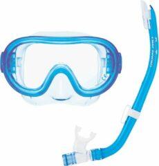 ReefTourer Snorkelmasker Duikbril Snorkelset voor kinderen tot ong. 10 jaar RC-0203- blauw
