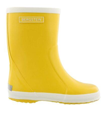 Afbeelding van Gele Bergstein Rainboot geel regenlaarzen kids