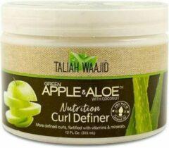 Taliah Waajid groen Apple & Aloe Nutrition Curl Definer 355 ml