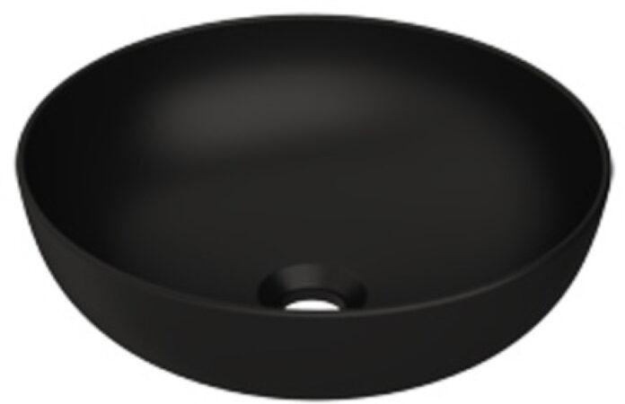 Afbeelding van Plieger Round waskom Ø38x13.6cm mat zwart 0271120