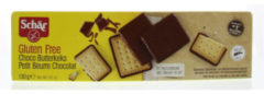 Dr Schar Butterkeks (biscuit) chocolade 130 Gram