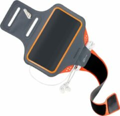 Oranje Mobiparts Comfort Fit Sport Armband Samsung Galaxy S20 Ultra 4G/5G Neon Orange
