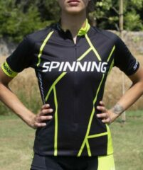 Groene Spinning® Elbrus Korte Mouw Jersey S