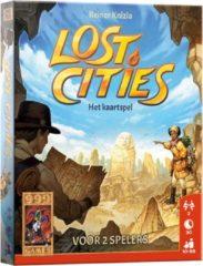 999 Games kaartspel Lost Cities 12,3 cm karton 61-delig