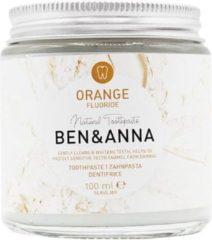 Ben & anna orange fluoride toothpaste