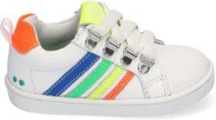 BunniesJr Puk Pit Unisex sportieve sneaker - Wit multi - Maat 20