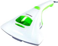 Groene CLEANmaxx huismijtkruimeldief met UV-C-licht wit/limegreen, 300 W, zonder stofzak