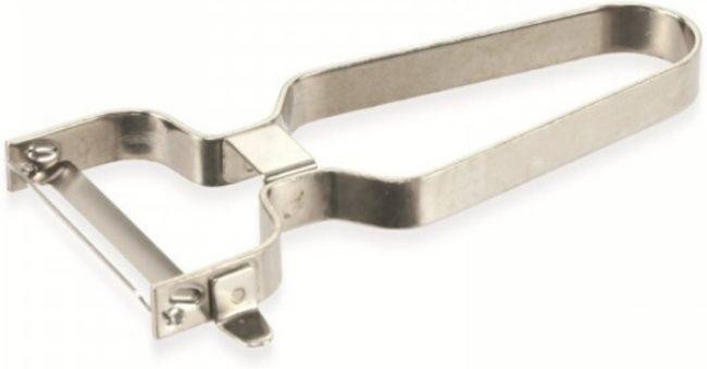 Afbeelding van Dunschiller - Zilver - Staal - Aardappelschiller - Alpina