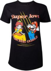 Zwarte Difuzed Nintendo - Super Mario Love Women's T-shirt - M