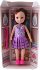 Toitoys Toi-toys Tienerpop Emma And Friends Jurk Paars 35 Cm