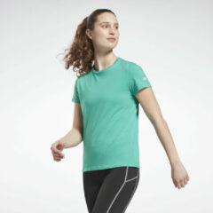 Blauwgroene Reebok Cotton T-shirt