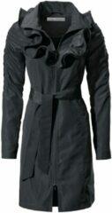 Zwarte Trenchcoat