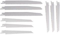 FERM Zaagbladenset RSA1001 7, 11 en 26 TPI voor hout en metaal (9 stuks)
