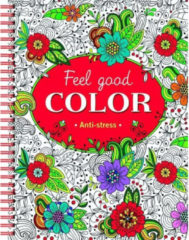 Deltas Kleurboek Feel Good Anti-stress 25 Cm