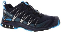 Salomon XA Pro 3D GTX Men Herren Speed Hiking-/Trail Running Schuh Größe UK 11,5 navy blazer/hawaiien ocean/dawn blue