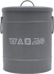 Grijze Label51 Wasmand - Grijs - Small - 26 x 26 x 33 cm - Label 51