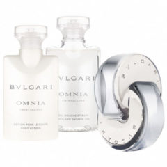 Bvlgari Damendüfte Omnia Crystalline Geschenkset Eau de Toilette Spray 40 ml + Bath & Shower Gel 40 ml+ Body Lotion 40 ml 1 Stk.