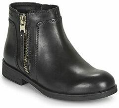 Geox Zwarte Laarzen Meisjes 35