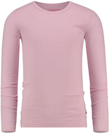 Afbeelding van Roze Vingino Meisjes T-shirt - Pink Bloom - Maat 104