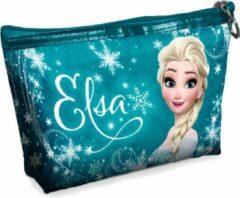 Turquoise Disney Frozen make-up etui Elsa