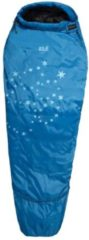Jack Wolfskin - Kid's Grow Up Star - Kinderslaapzak maat 150 - 190 cm, blauw