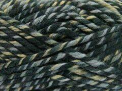 DEWOLWINKEL.NL Wol breien op breinaalden dikte 10-12 mm. – gemeleerd dikke breiwol kopen khaki grijs tinten – superwashwol gemengd met acryl garen - self striping knitting yarn breigaren pakket 2 bol van 200gram wolgaren