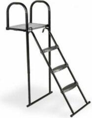 EXIT trampoline platform met ladder voor framehoogte van 95-110cm