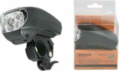 Rode Benson - Fietsverlichting set - koplamp, achterlicht, wielverlichting + Fietspomp / bal Super Mini