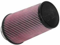 Rode K&N universeel conisch filter 89mm aansluiting, 152mm Bodem, 114mm Top, 229 mm (RU-3690)