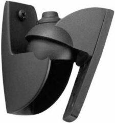 Luidspreker-wandbeugel Kantelbaar, Zwenkbaar Afstand tot de muur (max.): 3 cm 1 paar Vogel´s VLB 500 Zwart