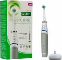 Grijze 2x GUM Elektrische Tandenborstel PowerCare