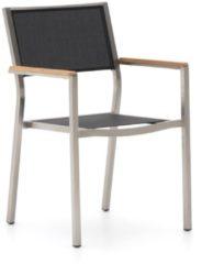 Zwarte Bernstein Furniture Bernstein Freiburg dining tuinstoel stapelbaar - Laagste prijsgarantie!