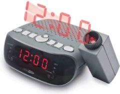 Caliber Wekkerradio Met Projectie - Zwart (HCG201)