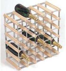 Bruine RTA Wijnrek van hout voor 30 flessen