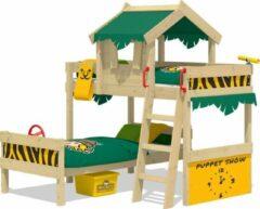 Groene Stapelbed Wickey CrAzY Jungle voor kinderen