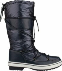 Blauwe Winter-Grip Snowboot women classic trotter marine wit-schoenmaat 38