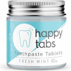 Tandpasta tabletten Fresh Mint - Happy Tabs 80 tabletten