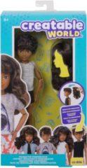 Mattel Creatable World Character Starter Kit 6 Brown Wavy - Genderneutrale Pop