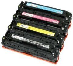 Cyane Goedkoopprinten Huismerk voor HP 305X toner / HP 305A toner Multipack (Set 4 stuks)