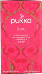 Pukka Org. Teas Love thee 20 Stuks