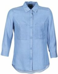 Blauwe Overhemd Armani jeans OUSKILA
