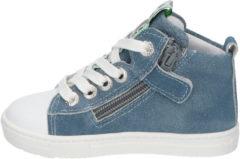 Blauwe Develab 41469 623 Blue Suede Boots
