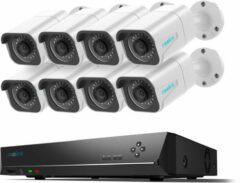 Witte Reolink RLK16-800B8 Beveiligingscamera set - 8MP - PoE