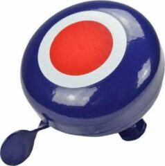 Donkerblauwe Kiddimoto Ding Dong Target Large