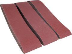 Bruine FERM Schuurbanden 915x100mm (1xP60, 1xP100, 1xP150) - Voor BGM1003 en BGM1022