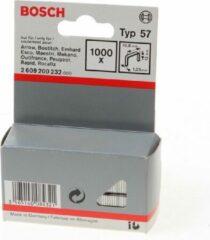 Bosch nieten gegalvaniseerd met platte draad 12mm (Prijs per 2 stuks)